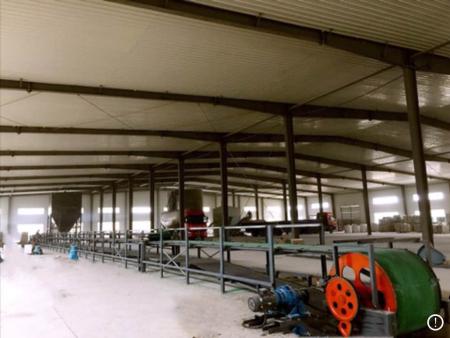 石膏天花板自动生产线