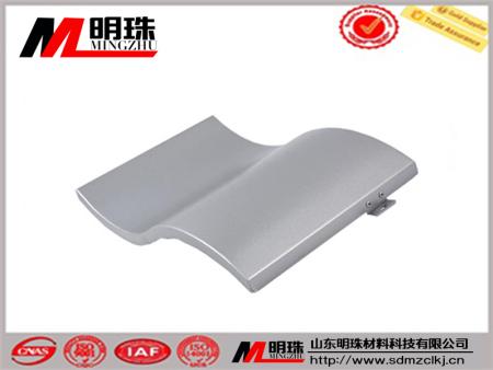 单曲弧形铝单板