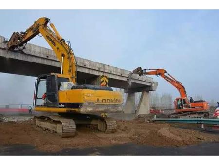 浙江桥梁拆除工程宁静步伐及要求