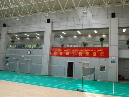 克拉玛依测井公司体育馆