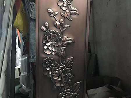 仿铜雕花铝单板