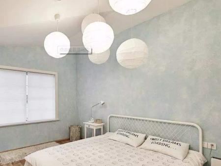 艺术漆卧室装修效果图
