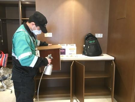 武汉高端酒店除甲醛治理案例