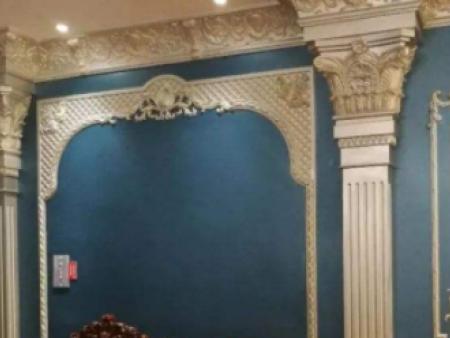 歐式藝術漆柱子效果圖