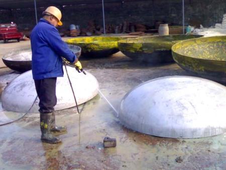 不锈钢封头的酸洗过程
