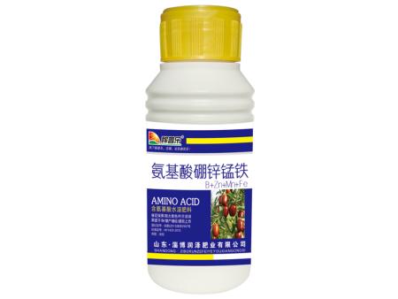 氨基酸硼锌锰铁