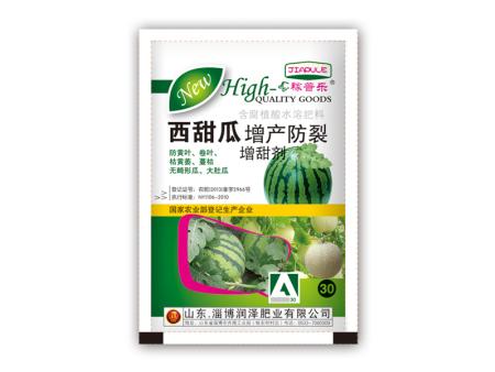 西甜瓜增产防裂增甜剂含腐植酸水溶肥料
