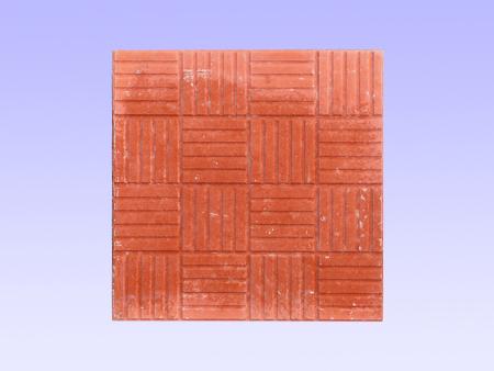 40X40红色16格彩砖