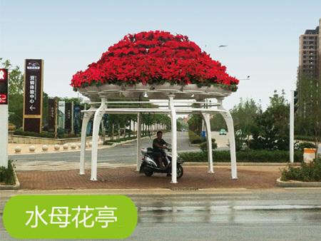 立体绿化水母花厅