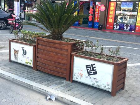 嘉兴海盐百步街的木纹