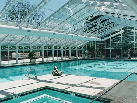 泳池开合屋顶