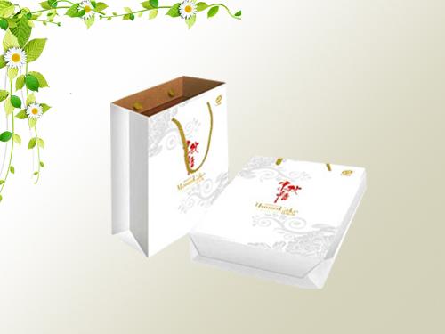 白卡紙手提袋-泰安手提袋定制