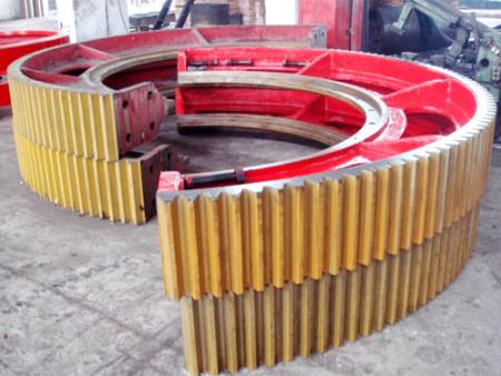大齿轮厂家简述生产过程中产品变形的原因