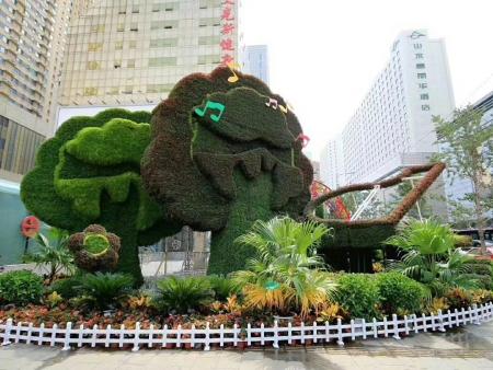 内蒙立体景观绿化是未来绿化发展趋势