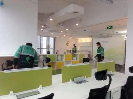 泛海民生金融中心辦公室除甲醛
