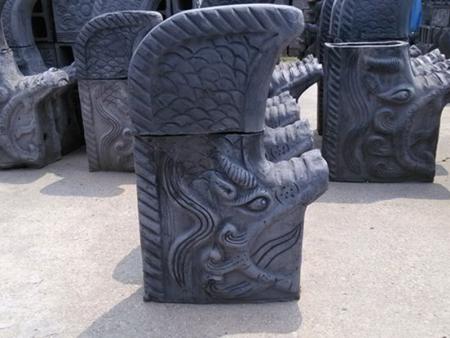山东古建砖雕批发-2米鸱吻