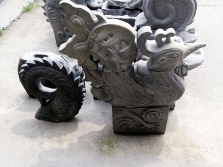 古建砖雕生产厂家-鳯吻