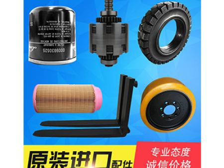 叉车配件 林德发电机轮胎滤芯风扇 定制货叉及飞轮属具
