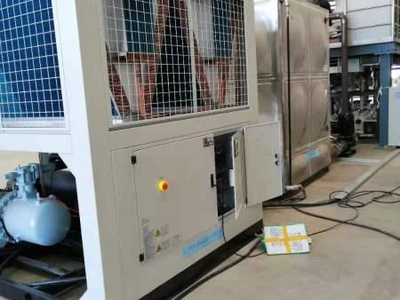熱烈祝賀東北大學---國家實驗室--特種鋼材熱軋--使用我公司--工業風冷螺桿冷水機組調試成功?。。?!