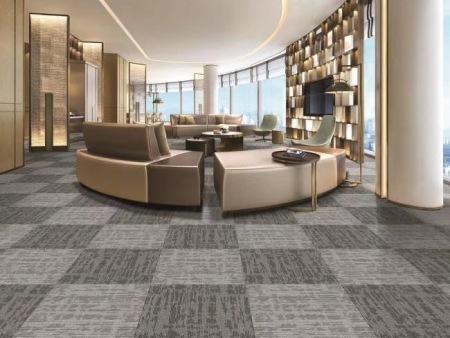 办公拼块地毯