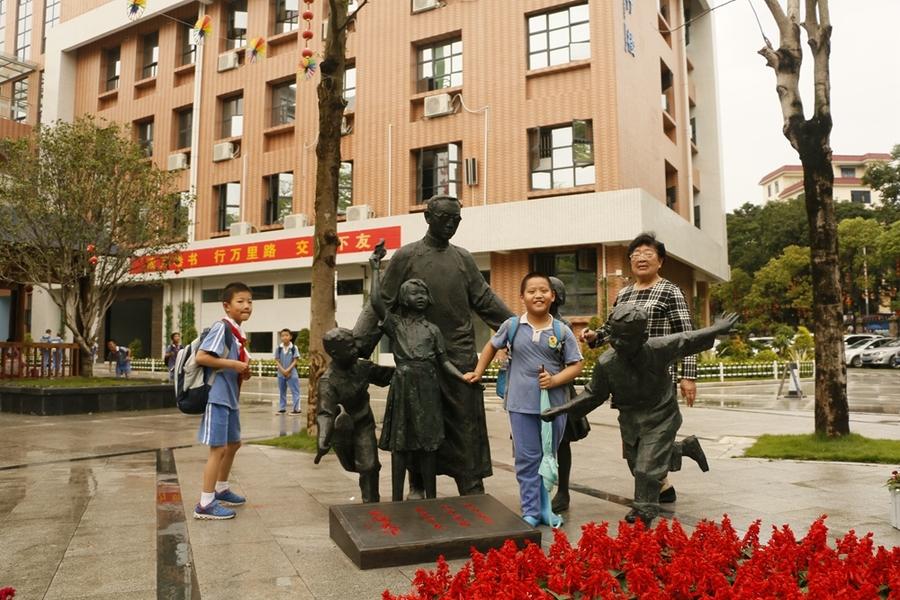 陶行知校园雕塑的保养方式