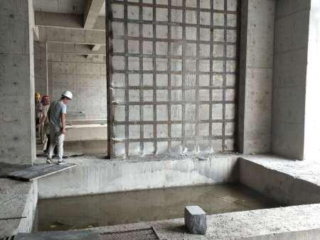 山东省章丘市大润发超市地下一层加固工程