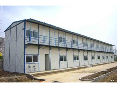 兰州建筑工地临时活动彩钢板房