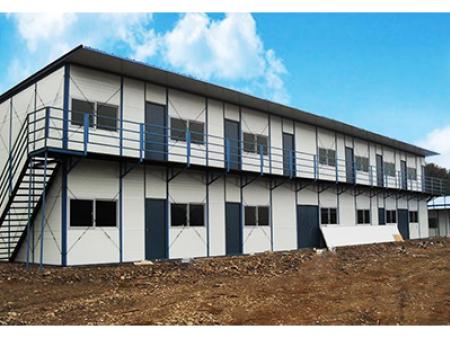 青海建筑工地临时活动彩钢板房