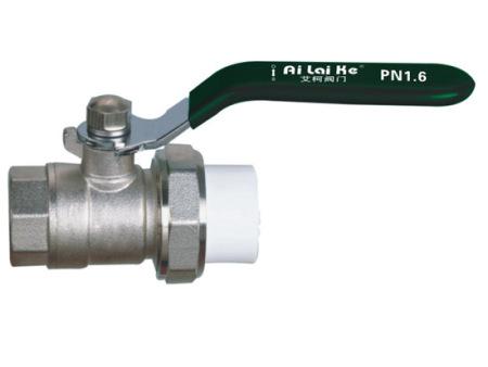 226-内牙PPR.PB活接球阀B型(小体)