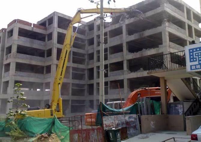 深圳拆除公司讲述房屋在进行拆除的施工要求有哪些?