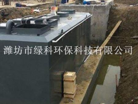 湖北荆州某医院污水处理设备