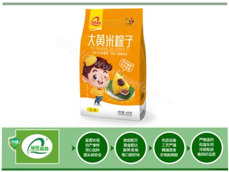 大黄米粽子-豆沙