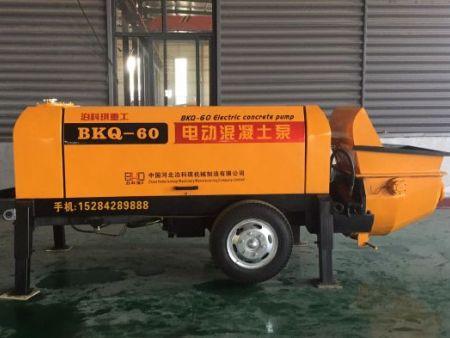 BKQ-60型電動混凝土泵