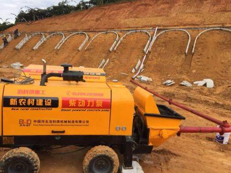 柴動力混凝土泵
