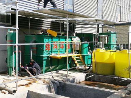 山东临沂鸿福印刷厂污水处理设备