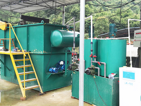 湖南怀化某医院污水处理设备