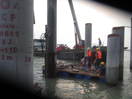 深圳机场水下8米切管桩