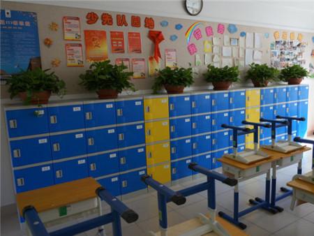 T382-E教室柜蓝黄