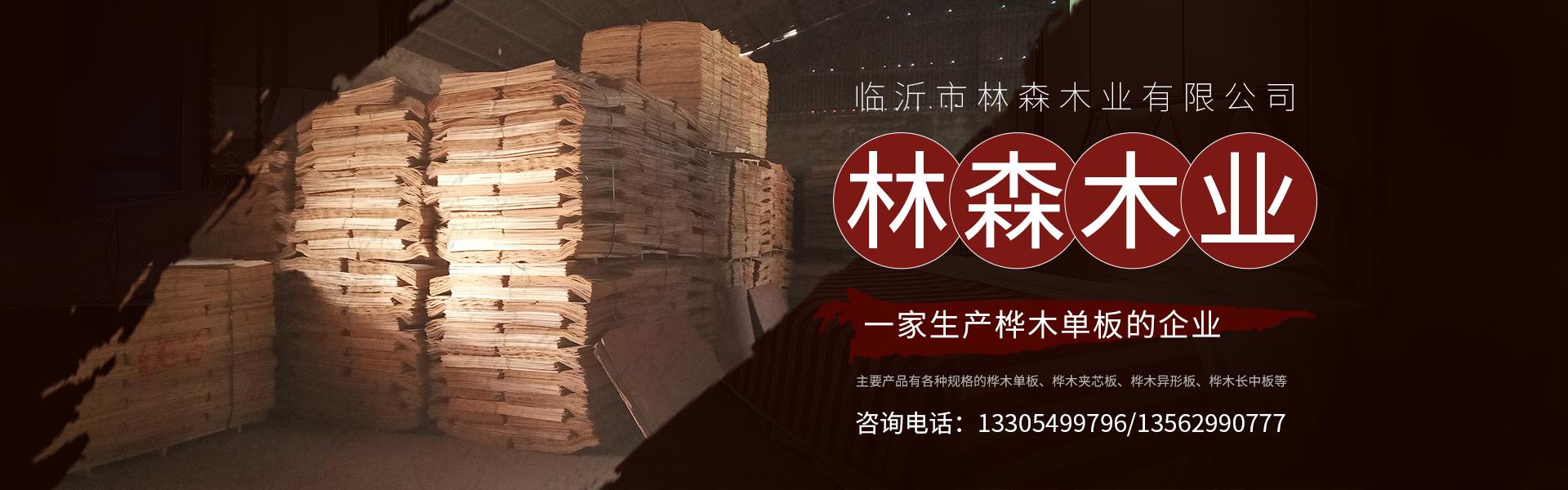 临沂林森木业-专业生产各种规格的桦木长中板,桦木单板,桦木异形板,桦木夹芯板