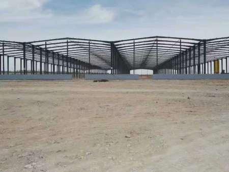 兰州钢结构加工厂家-新型钢结构厂房有些什么优点?