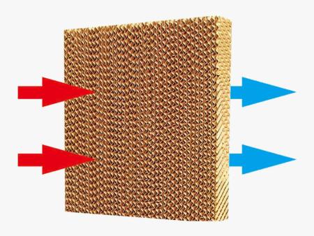 水帘纸降温的基本原理