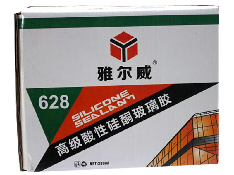 雅尔威628高级酸性硅酮玻璃胶