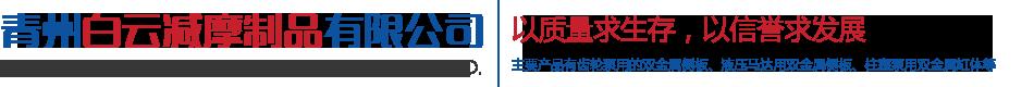 青州白云减摩制品有限公司
