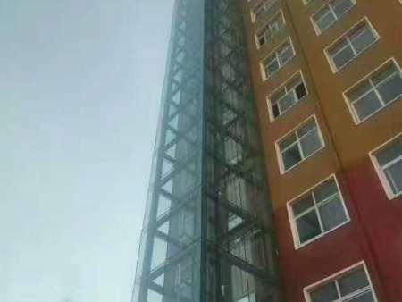 駐馬店上蔡縣個人商住13層電梯井道加裝項目