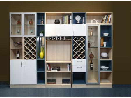 兰州全屋定制家具设计风格独特的家用酒柜