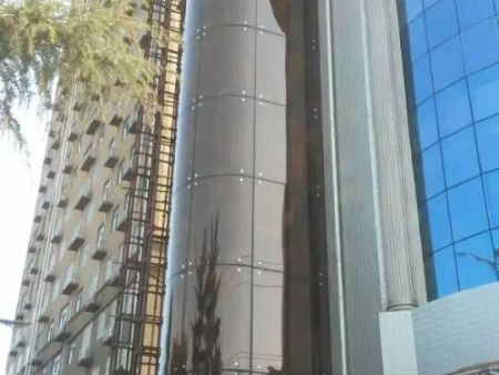駐馬店西平縣龍泉花園酒店電梯井道項目