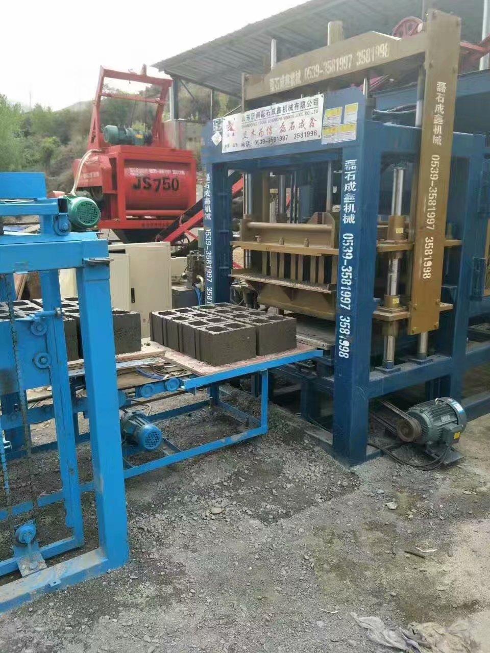 全自动液压砖机购买新机的磨合期