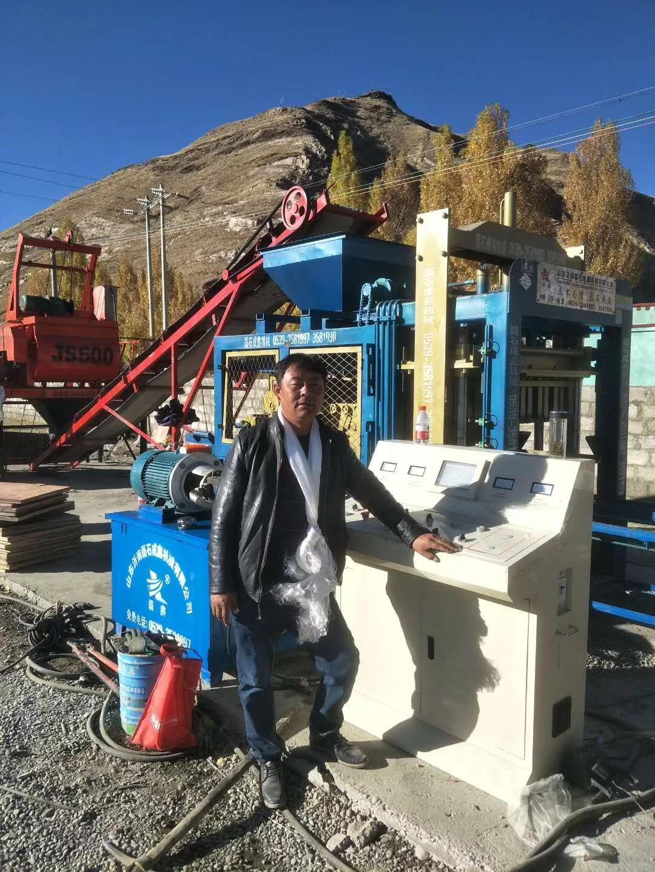 液压水泥制砖机设备厂家对小型液压砖机的保养原则