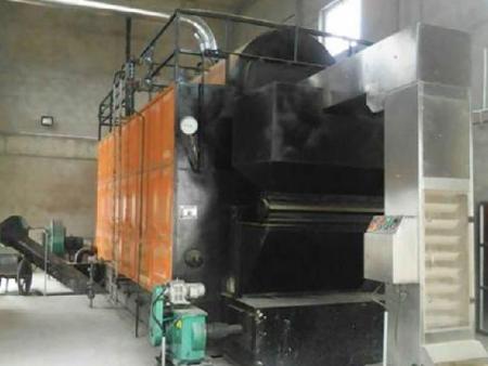 正大集团(朝阳)现场6吨生物质蒸汽炉