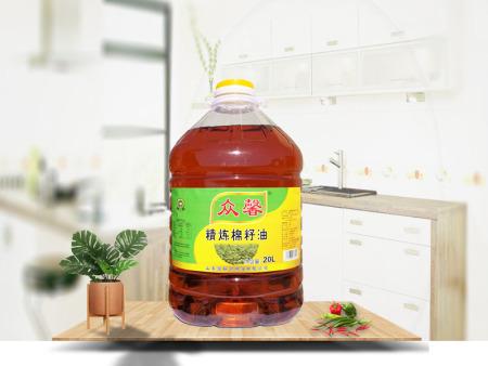 精炼棉籽油20L